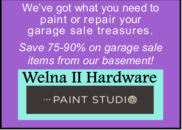 2015 Welna Seward garage sale