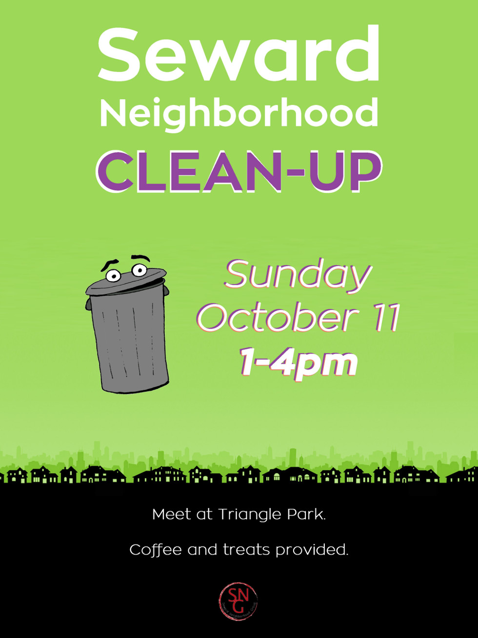 SNG Neighborhood CleanUp_8x11
