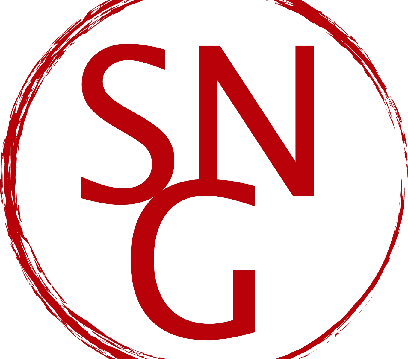 Seward Neighborhood Group logo. Letters SNG in a red circle.